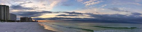 fisherbray unitedstates usa florida okaloosacounty destin emeraldcoast google pixel4 gulfofmexico beach water wasser sunrise panorama sky