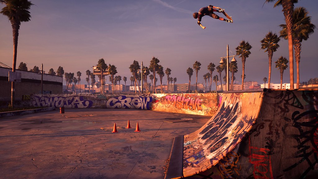 Tony Hawk's Pro Skater 1 and 2 on PS4