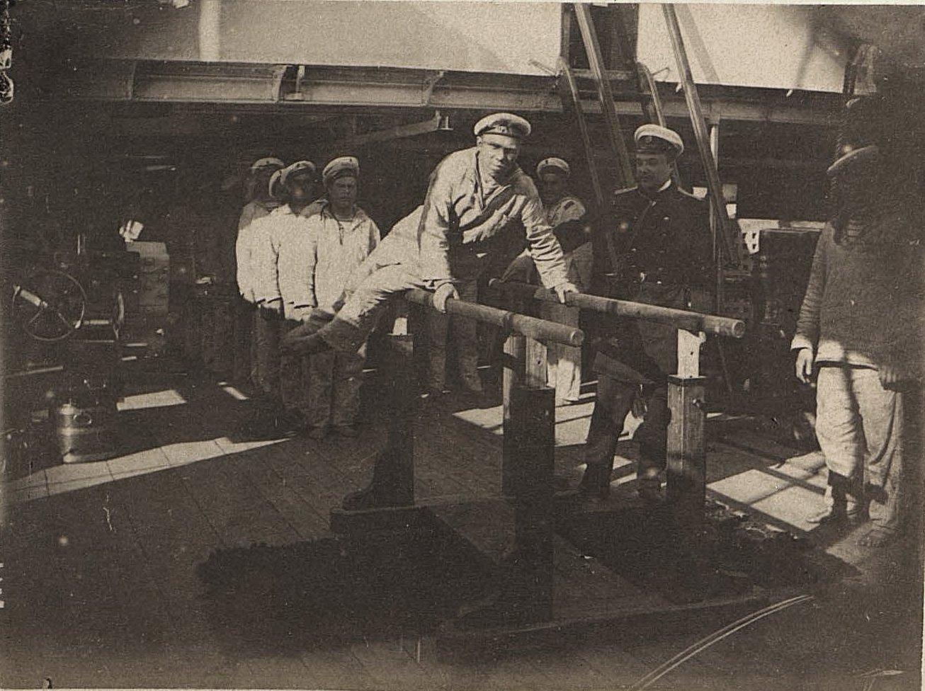 1898. Обучение гимнастике