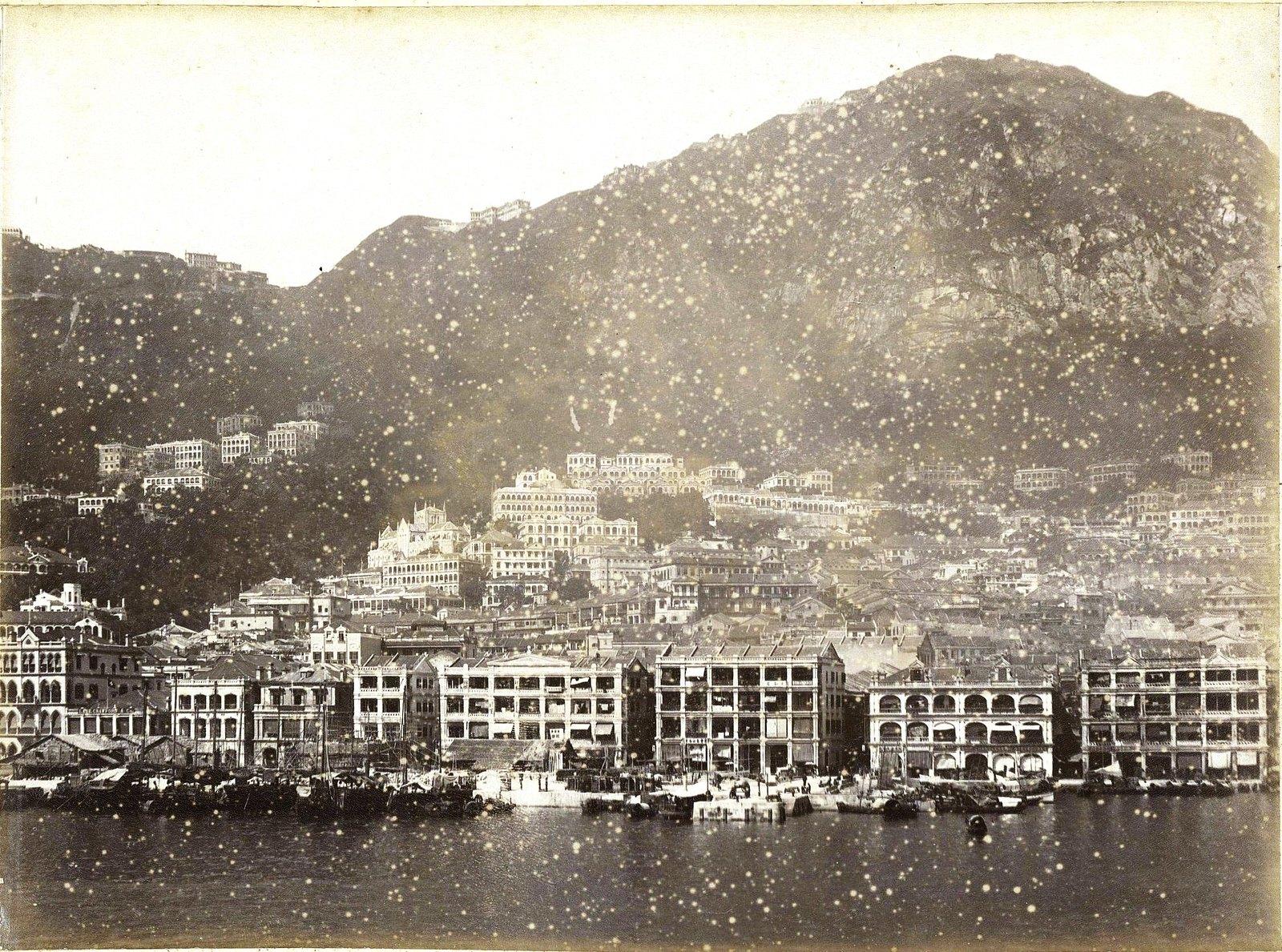1898. Гонконг. Вид на город (1)