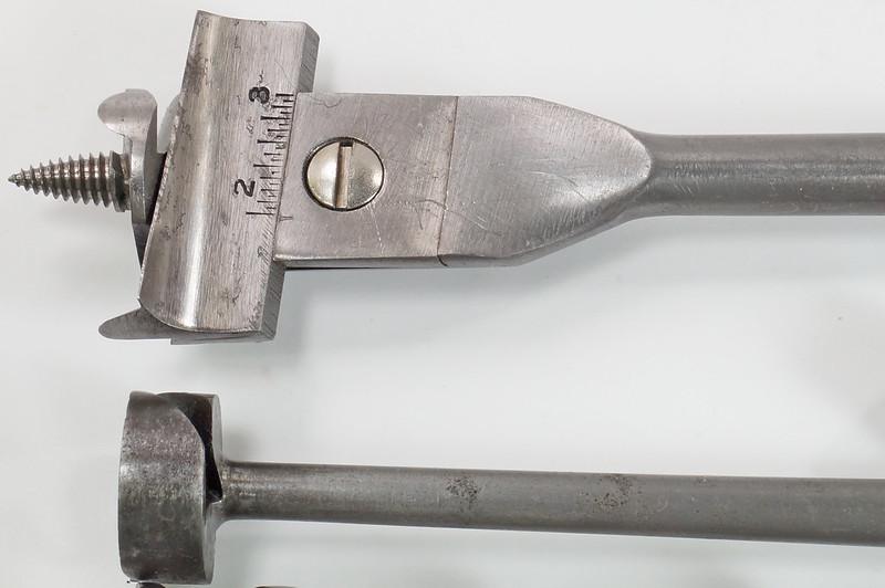 RD29559 9 Antique Auger Drill Bits - 6 Irwin Sizes 4,5,6,8,10 & 12 Plus BGI 14, Convalco Expansive, Craftsman DSC04231