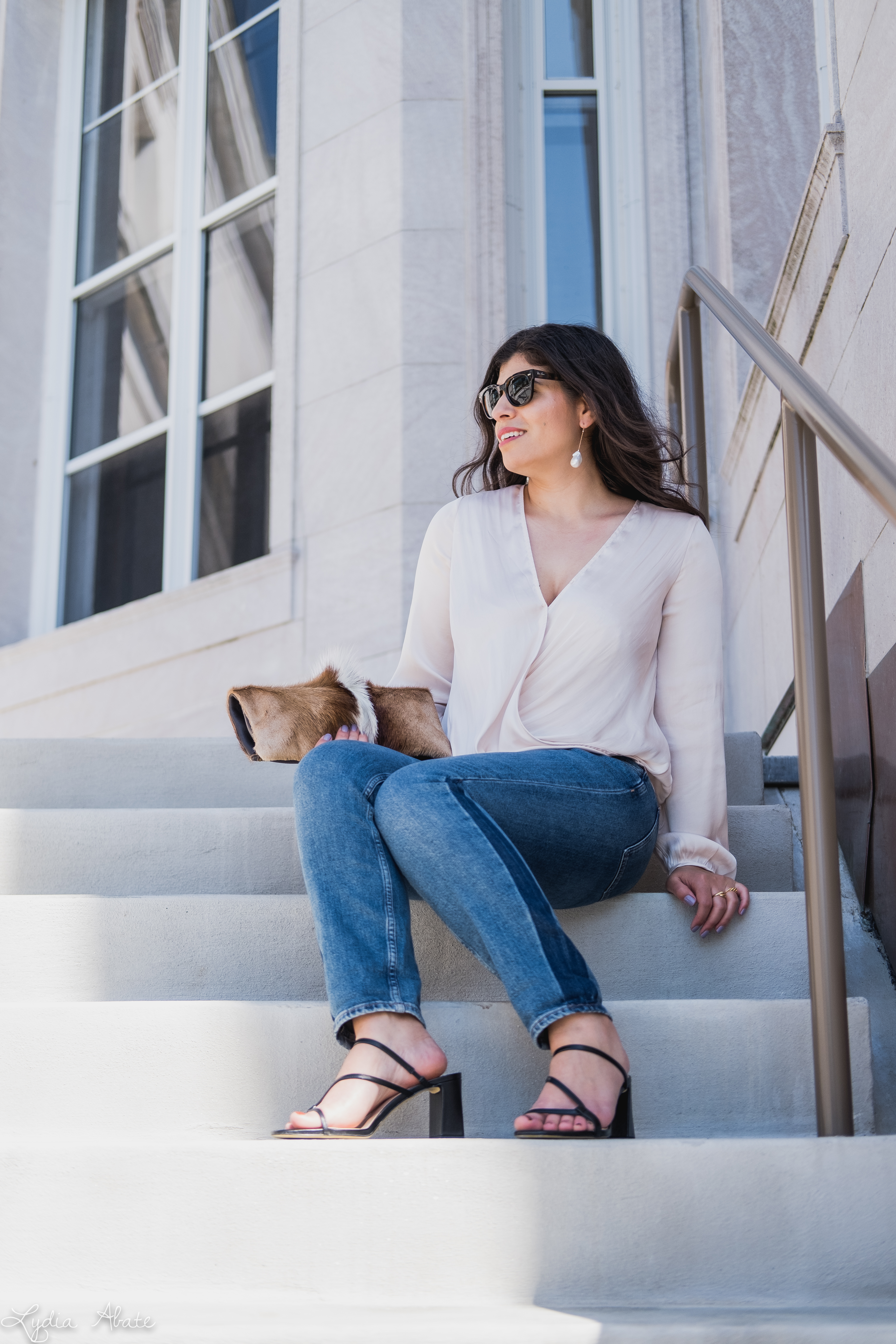 white wrap blouse, tomboy jeans, stappy heels, springbok clutch-8.jpg