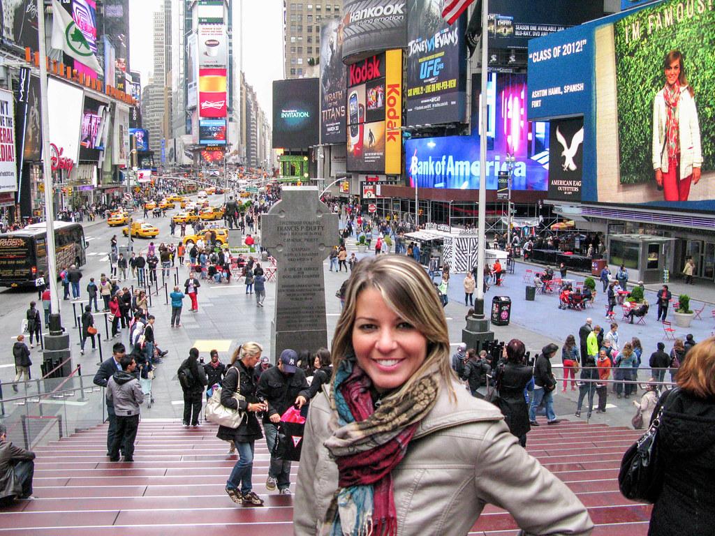 Plaza de Times Square en Nueva York