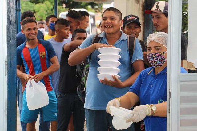 12.05.2020 Prefeitura garante distribuição de refeições para pessoas em vulnerabilidade social