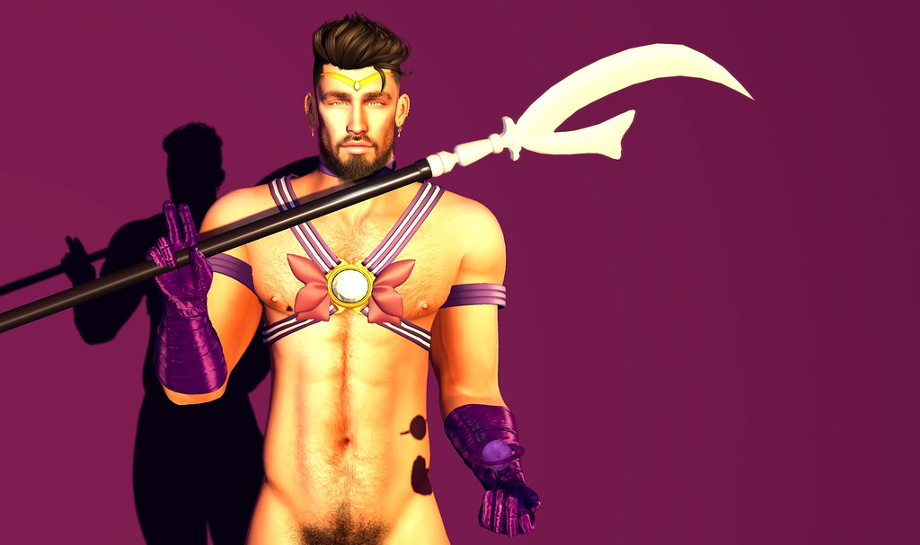 Protected by Saturn, Planet of Silence... I am the soldier of destruction and rebirth... I am Sailor Saturn