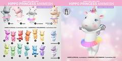 SEmotion Libellune Hippo Princess Animesh