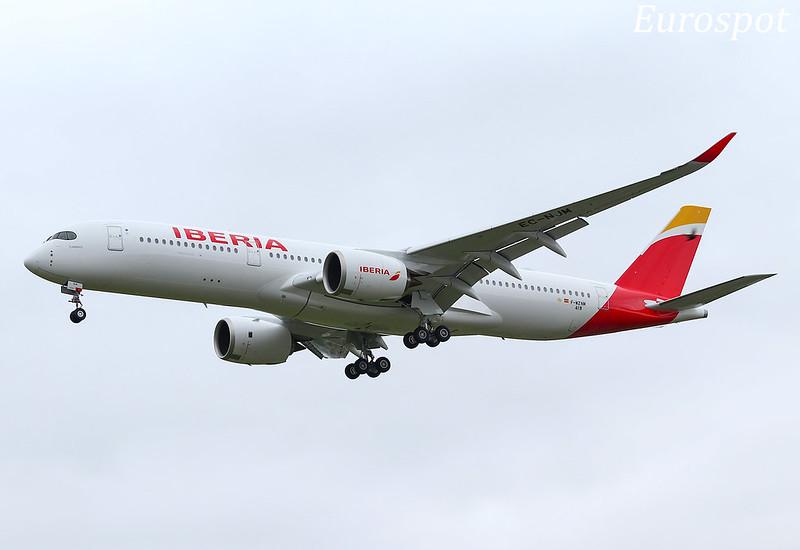 F-WZNM Airbus A350 Iberia