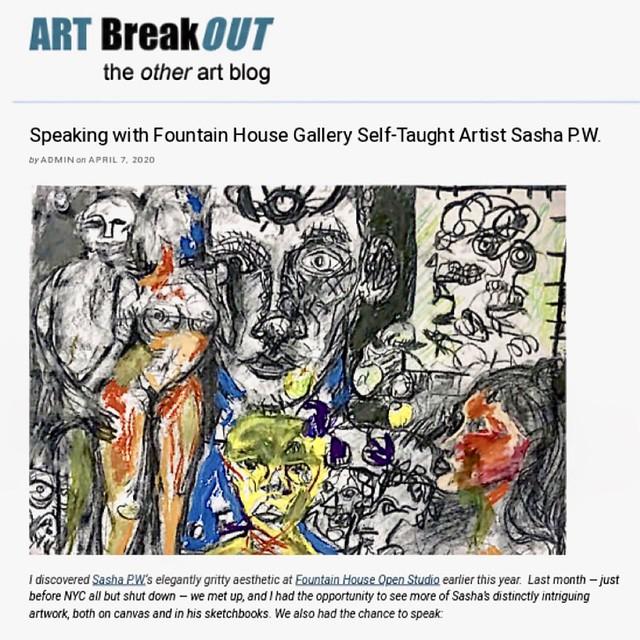 Interview with Fountain House Gallery artist Sasha PWA