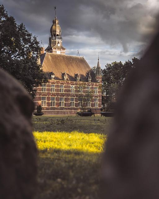 Castle Wijchen city, Netherlands.