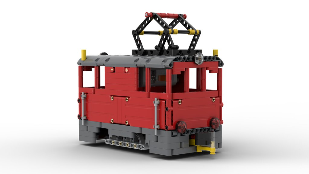 Lego Technic Locomotive in 1:22,5 Scale