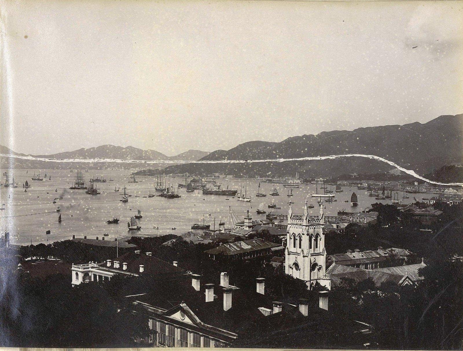 1898. Гонконг. Рейд (1)