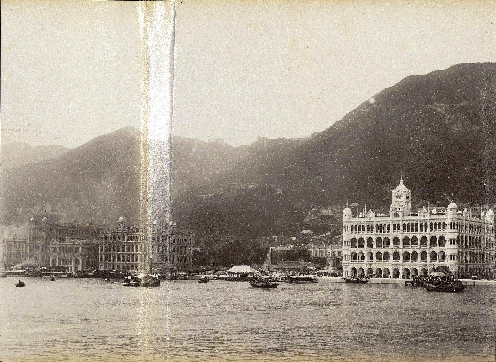 1898. Гонконг. Вид на город (2)