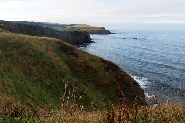 The coast west of Pennan