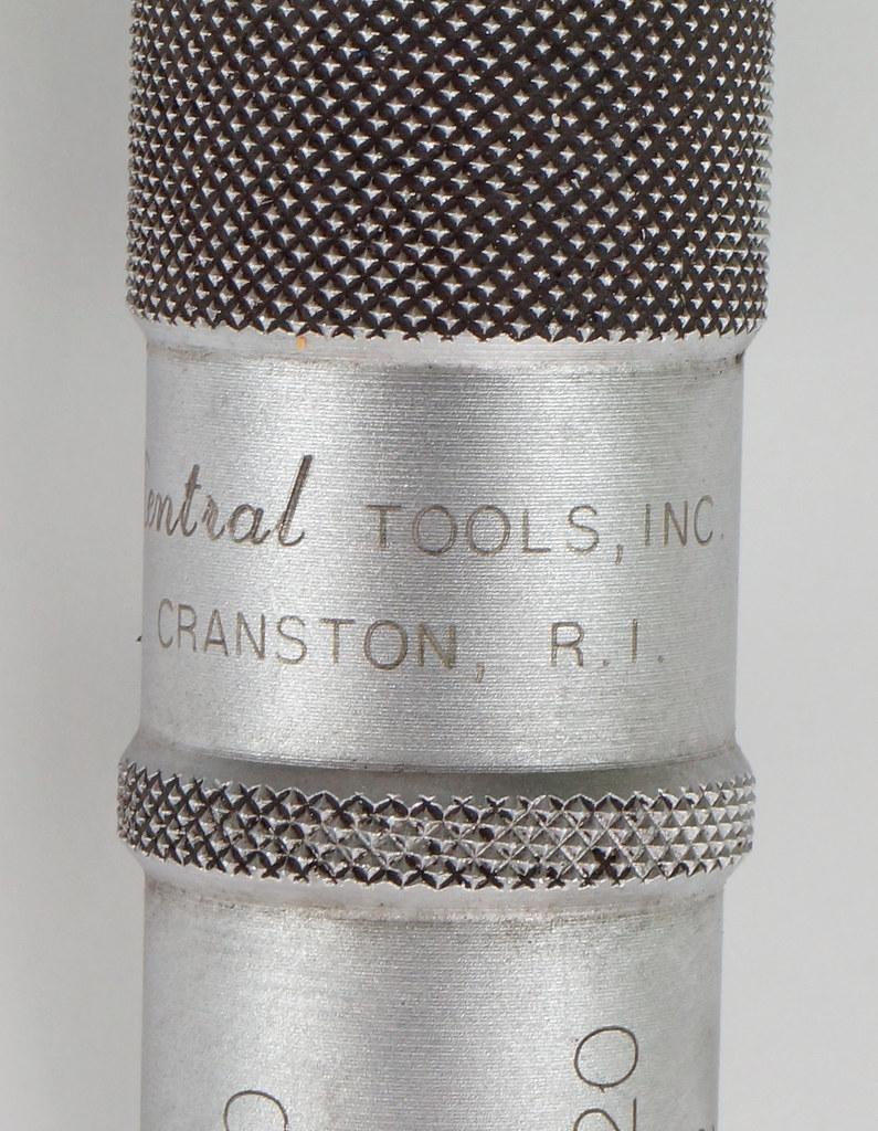 RD18342 Central Tools Disc Brake Rotor Micrometer #6202 in Box DSC04264
