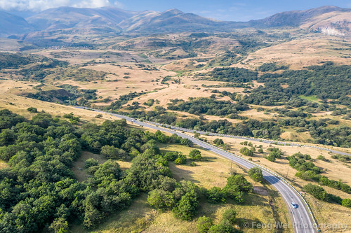 mountainpass windingroad traveldestinations tourism road asia travel landscape horizontal caucasus outdoors colorimage armenia aerialview extremelandscape dronepointofview syunikprovince