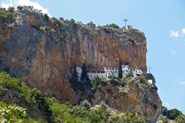 Peloponnes, Kloster Elonis