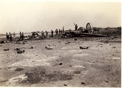 The B-24 after the fireball