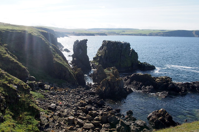 The coast near Aberdour, Aberdeenshire