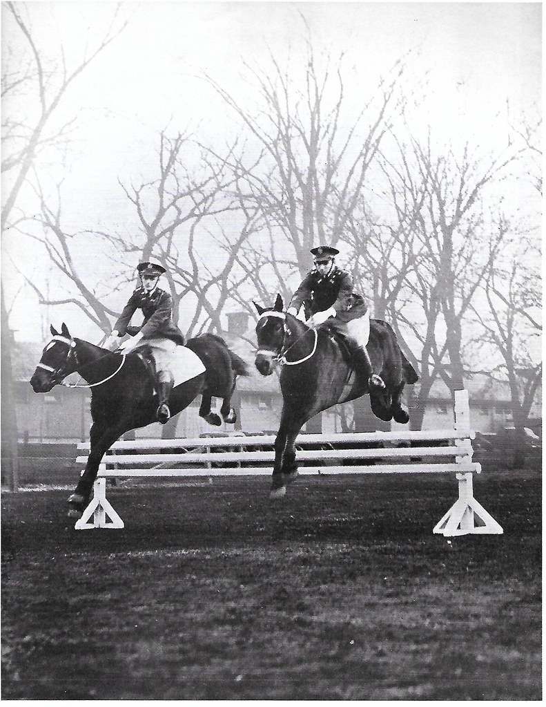 William 'Square John' Horse jumping,