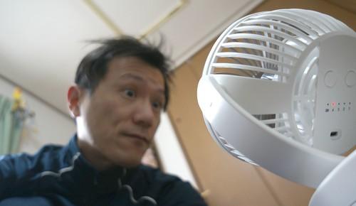 卓上扇風機 KN-871 十分な風量