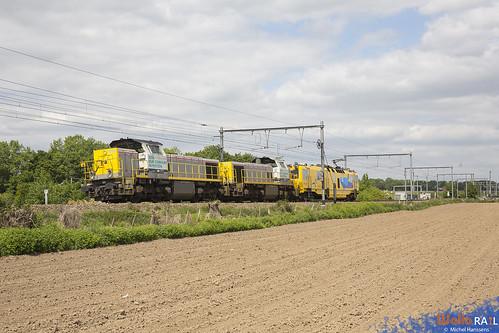 7868+7869 . LNS + UFM 120 Eurailscout .  47675 . Moelingen-Mouland . 12.05.20.