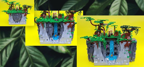 playset lego adventure hiddenwaterfall dramaticfashions