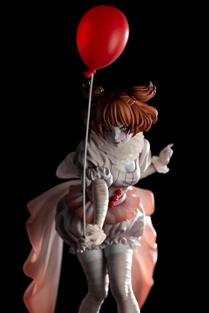 來場嶄新感覺的夢幻漂浮?! 壽屋 HORROR美少女系列《牠(2017)》潘尼懷斯(ペニーワイズ)1/7 比例PVC塗裝完成品