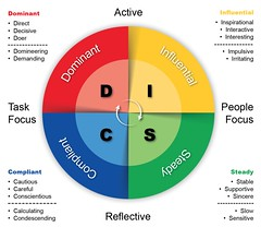 DISC Personality Testing diagram