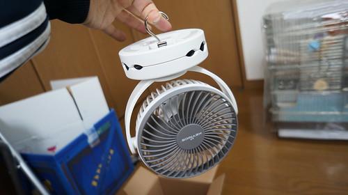 卓上扇風機 KN-871 つりさげ