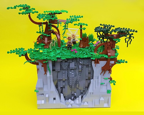playset lego adventure hiddenwaterfall