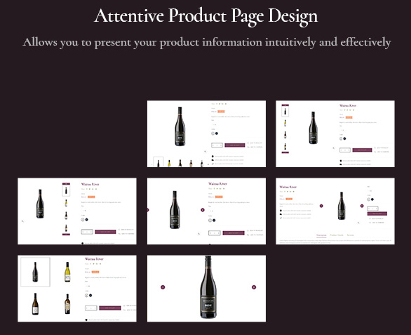Passo Bosco - Prestashop Wine Store Template_attentive product page design