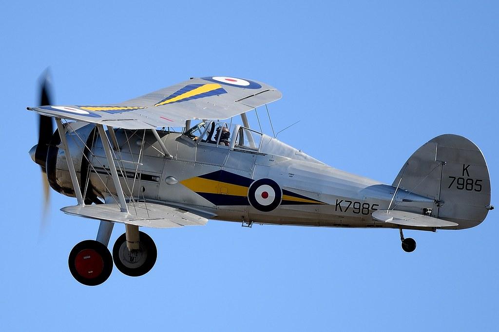 1938 RAF Gloster Gladiator 1 K7985 G-AMRK