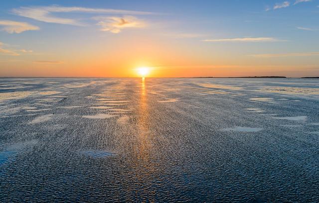 vliehors - sunset