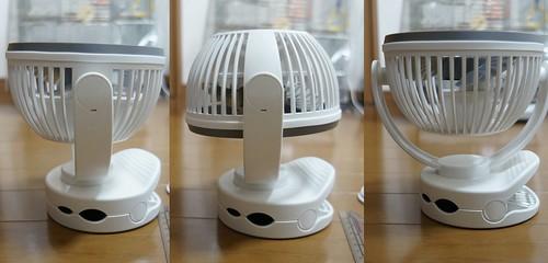 卓上扇風機 KN-871 360度回転