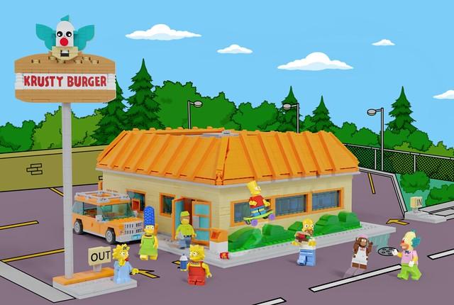 The Simpsons - Krusty Burger (LEGO Ideas Project)