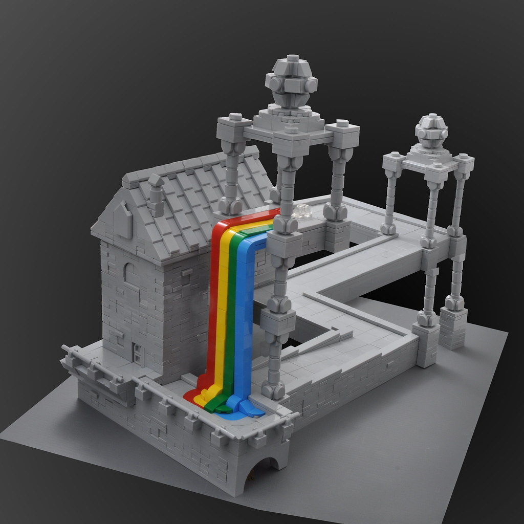MC Escher - Rainbow Falls