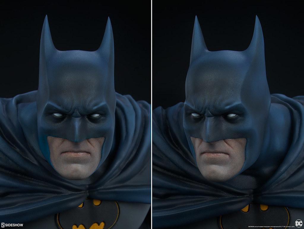 展現出潛藏於心中的深層黑暗! Sideshow Collectibles Premium Format Figure 系列 DC【蝙蝠俠】Batman 1/4 比例全身雕像 普通版/EX版