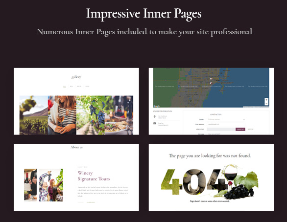 Passo Bosco - Prestashop Wine Store Template_numerous inner pages