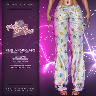 Aimee Unicorn Cargos @ Fly Buy Friday 5/15 | by Pink Cream Pie