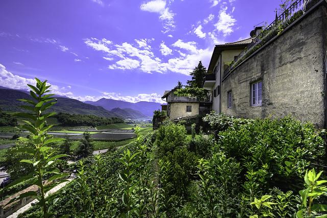 View to Lago di Caldaro from Kaltern - Alto Adige - Italia