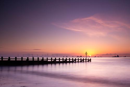 aberdeen sunrise sunset aberdeenbeach landscape longexposure scotland water sea sky ocean outdoor outside