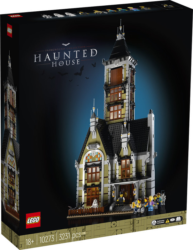 10273: LEGO Haunted House