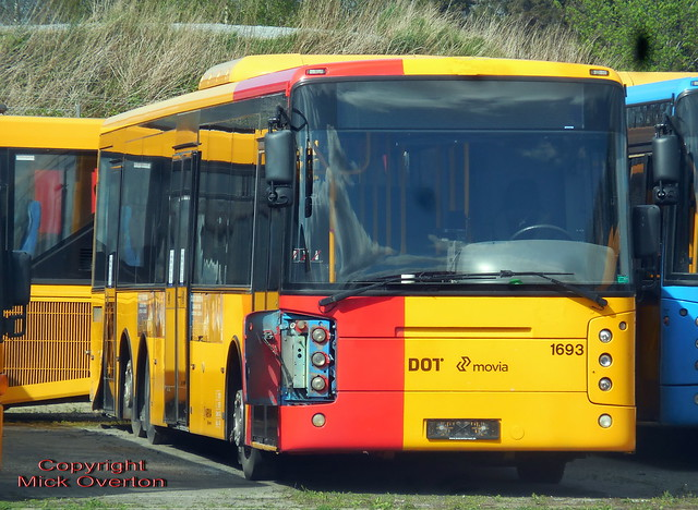 ARRIVA scrapline 2008 Volvo B12BLE 1693 withdrawn after engine failure and replaced on 7A contract by 1676