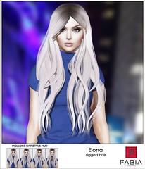 NEW! -FABIA- hair  Elona