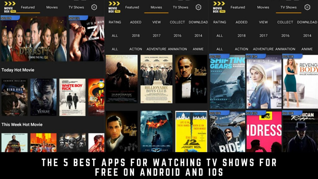 The 5 Best Apps For Watching Tv Shows For Free On Android And iOS