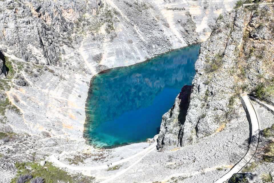 The Modro jezero, or the blue see near Imotski, Croatia. You know why it's named like this?