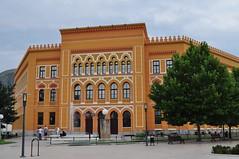 Lycée austro-hongrois (1892-1902), Mostar, Herzégovine-Neretva, Bosnie-Herzégovine.
