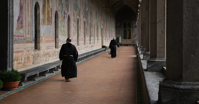 There are still some true working monasteries left, such as Santa Chiara in Napoli