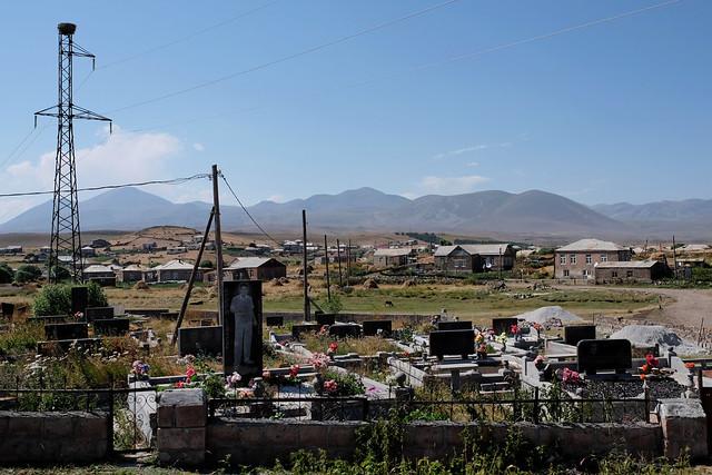 Ninozminda, Samzche-Dshawacheti, Georgia - August 2017