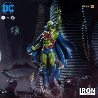 壯碩的肌肉線條超魄力! Iron Studios DC Comics【火星獵人 (Martian Manhunter) by Ivan Reis】1/10 比例全身雕像